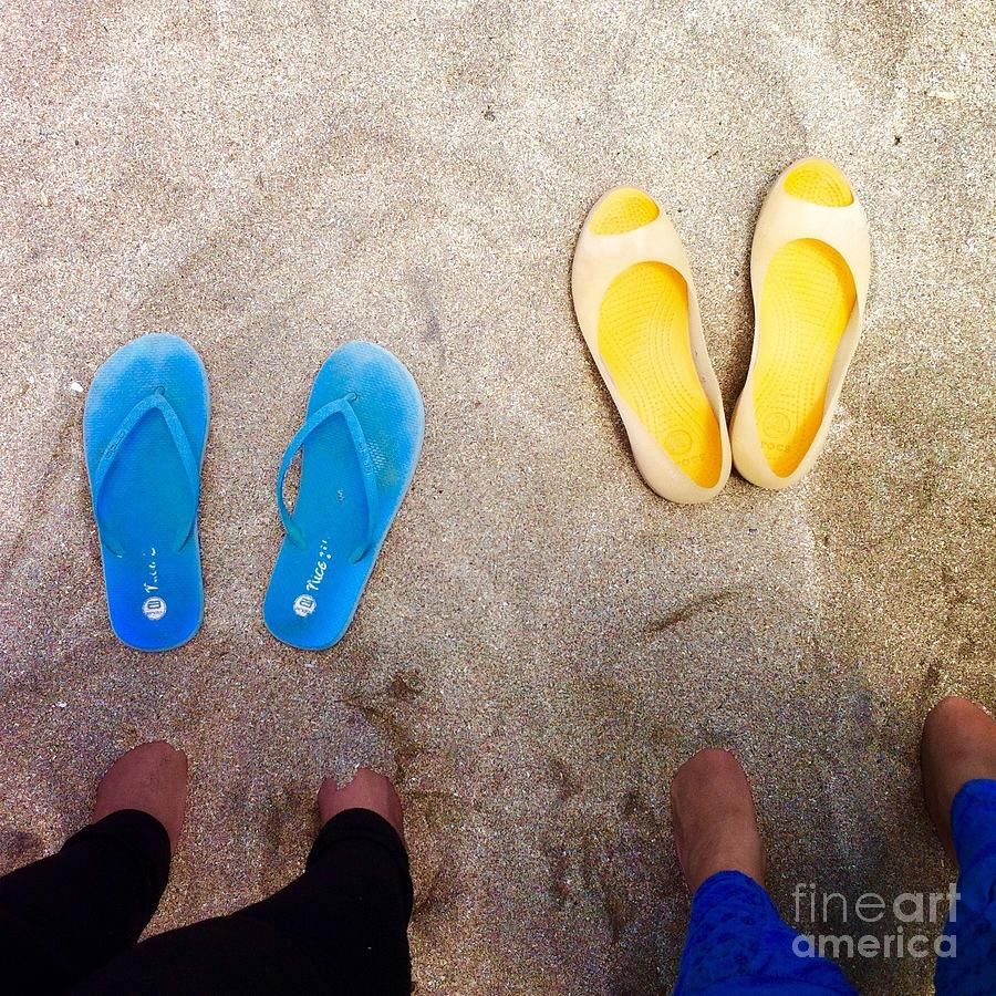 Feet Photograph - Feet Around The World #23 by Edit Kalman