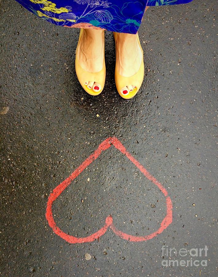 Feet Photograph - Feet Around the World #7 by Edit Kalman