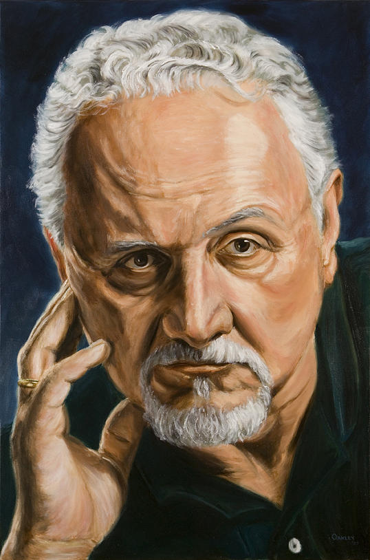 Felice Picano Painting - Felice Picano Portrait by Christopher Oakley