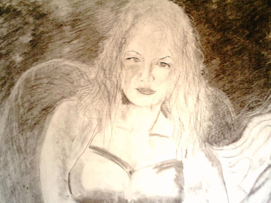 Cantina Drawing - Felina by J Bauer