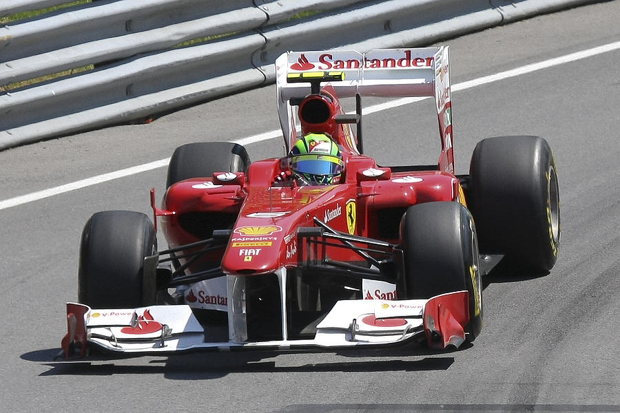 Ferrari Photograph - Felipe Massa by Art Ferrier