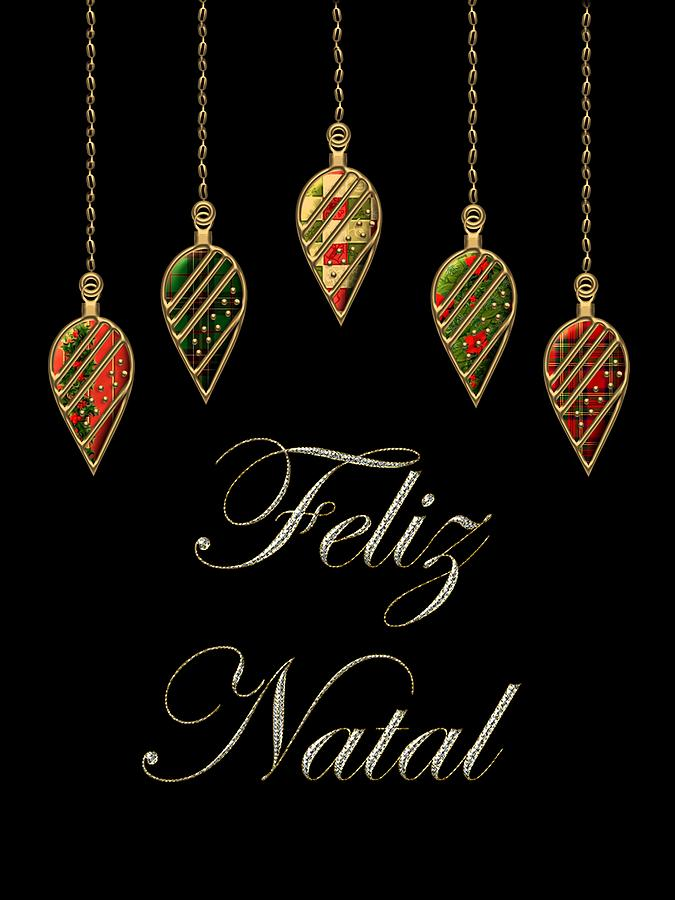 Merry Christmas In Portuguese - Christmas Cards