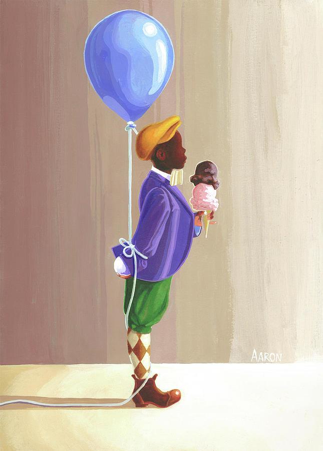 Aaron Painting - Fella by Aaron Clark