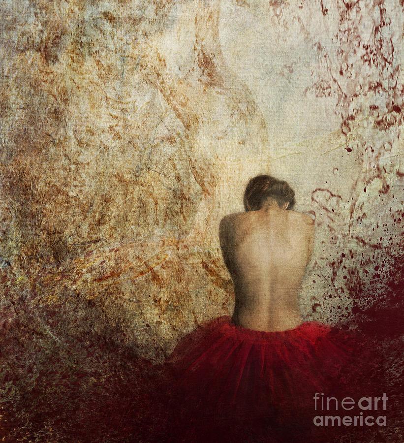 Woman Photograph - Female Back by Jelena Jovanovic