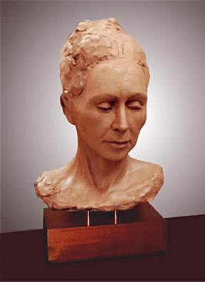 Female Bust Sculpture by Ole Nielson