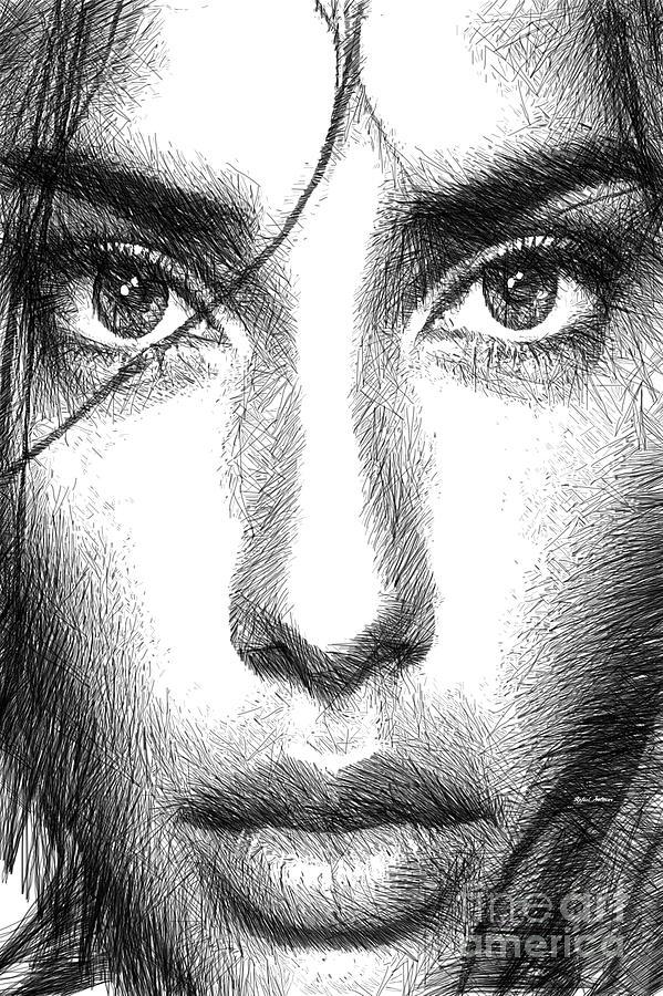 Colombia Digital Art - Female Expressions 936 by Rafael Salazar