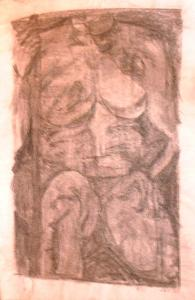 Female Nude Painting - Female Nude 6 by Ladonna Idell