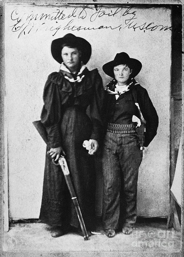 Female Outlaws Photograph By Granger