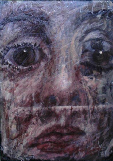 Portrait Painting - Female Portrait by Manolis Polymeris