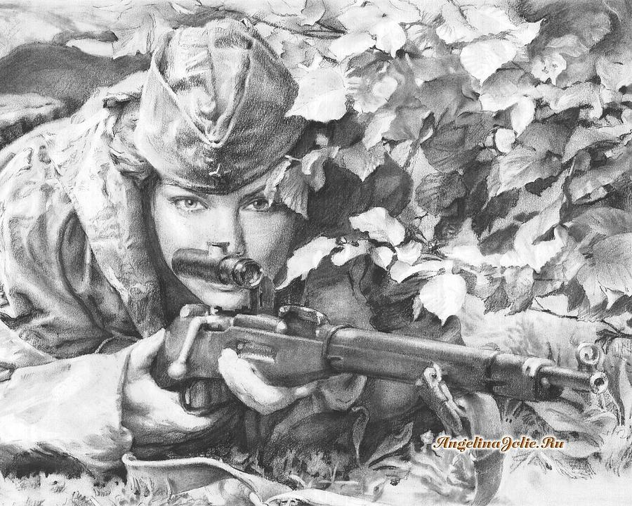 Открытки снайпер