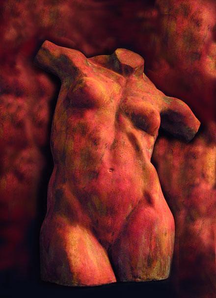 Female Torso Sculpture by Tom Durham