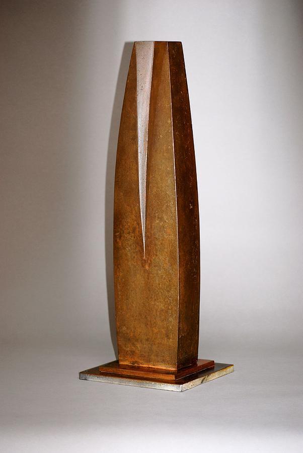 Cast Iron Sculpture - Feminine by Robert Hartl