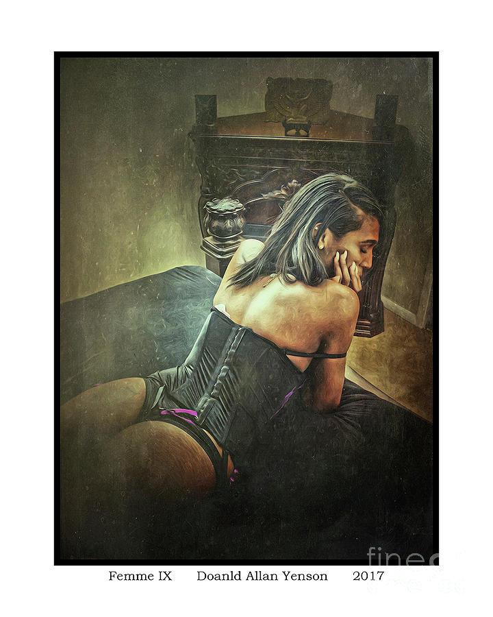 African American Photograph - Femme Ix by Donald Yenson