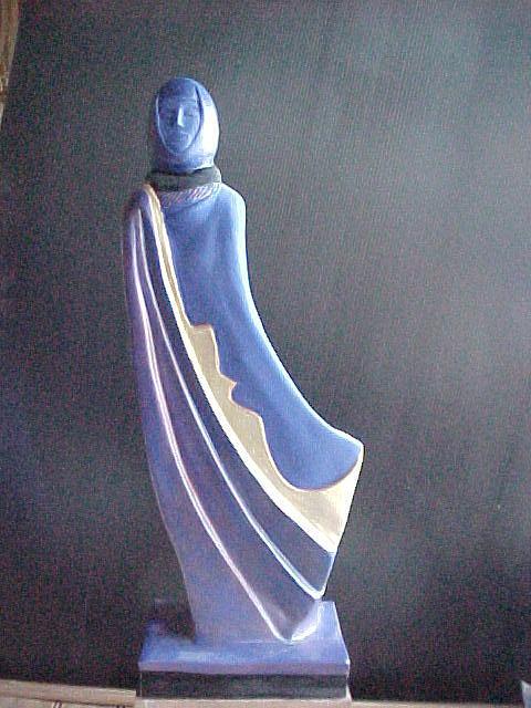 Femme Voilee Sculpture by Almaury