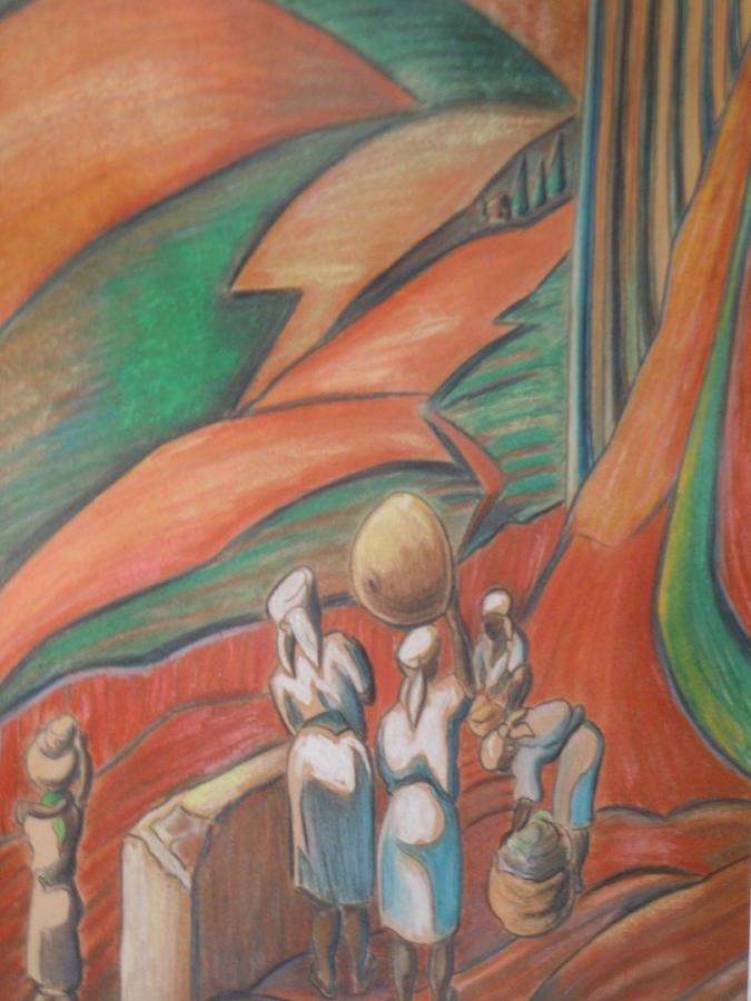Femmes Des Mornes Painting