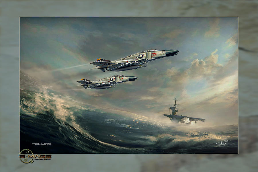 War Digital Art - Femurs by Peter Van Stigt