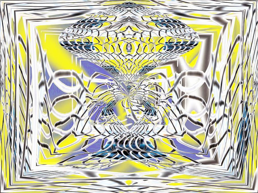 Fantasy Digital Art - Fenced In No More by Tim Allen
