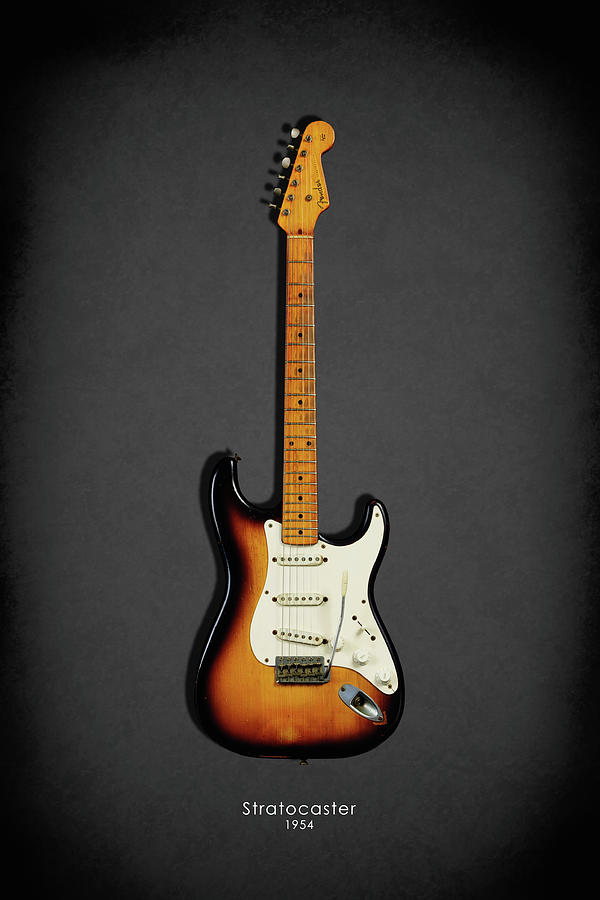 Fender Stratocaster Photograph - Fender Stratocaster 54 by Mark Rogan