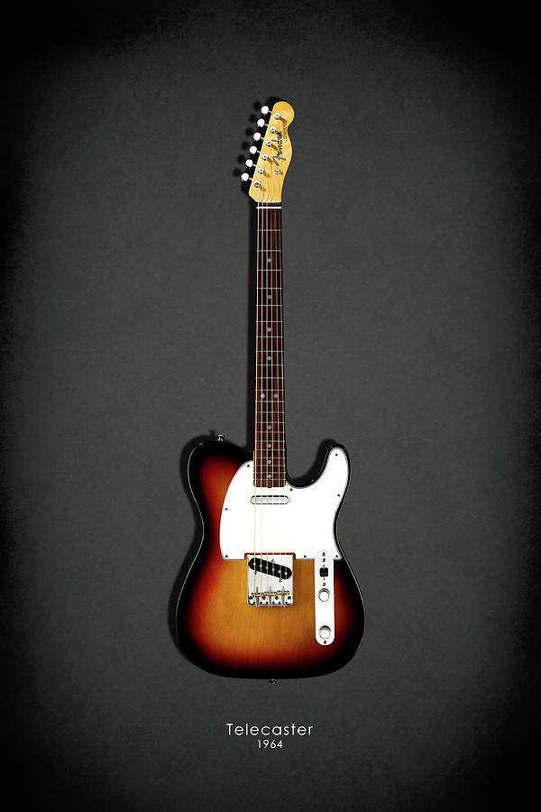 Fender Telecaster Photograph - Fender Telecaster 64 by Mark Rogan