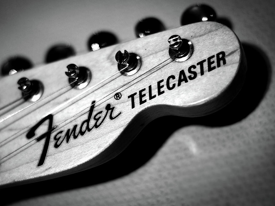 Fender Photograph - Fender Telecaster by Mark Rogan