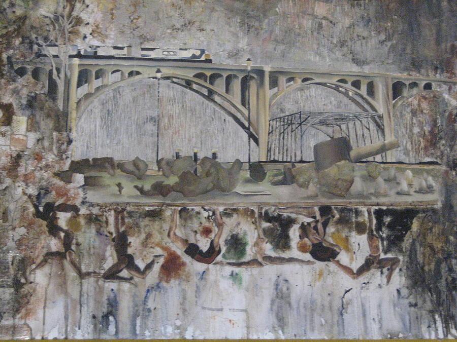 Bridge Mixed Media - Fenix by Olivia  Whitby