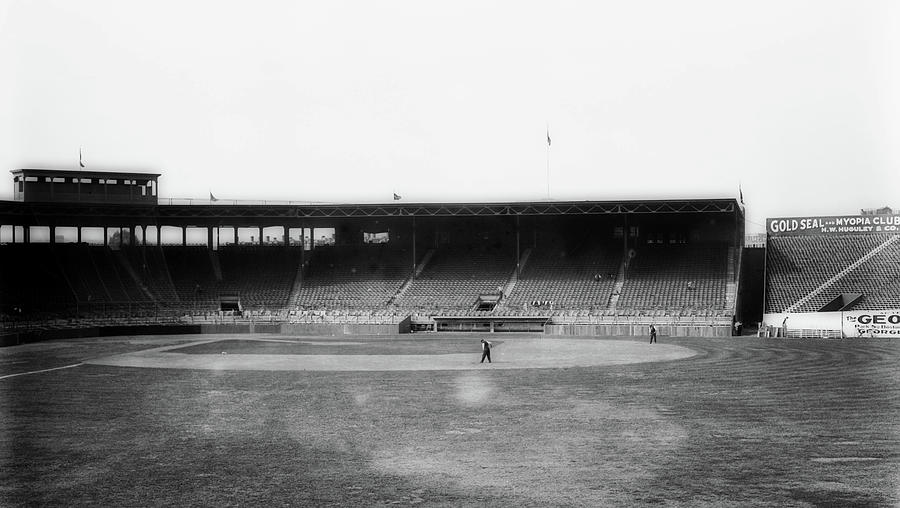 Old Photographs Photograph - Fenway Park 1914 by Library Of Congress