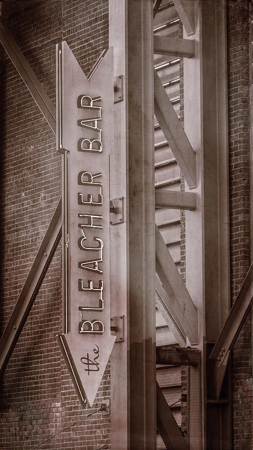 Fenway Park Photograph - Fenway Park Bleacher Bar - #4 by Stephen Stookey