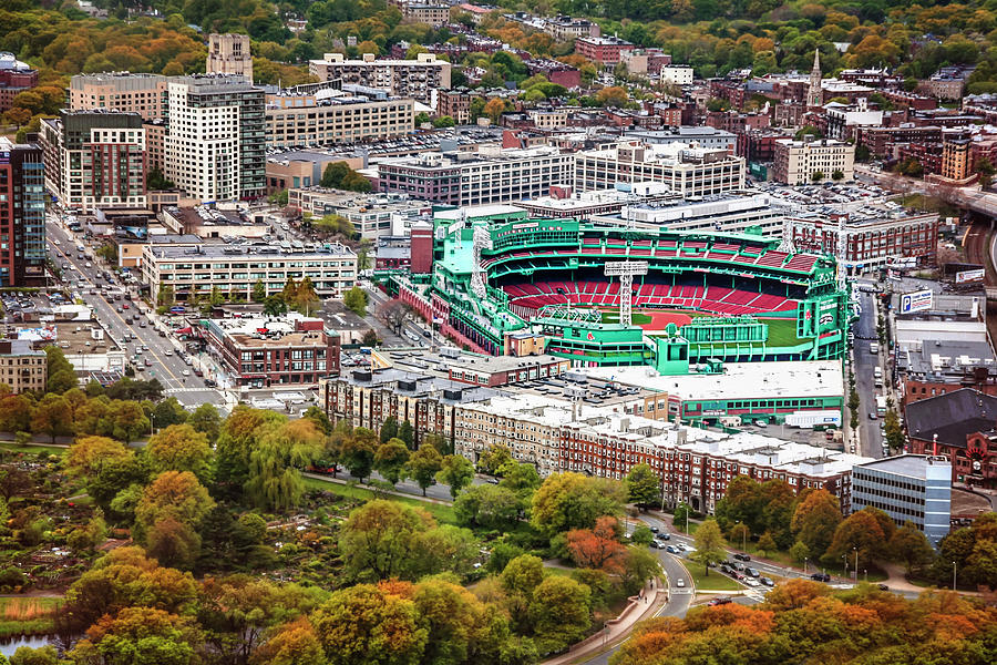 Fenway Park  Boston Red Sox by Carol Japp