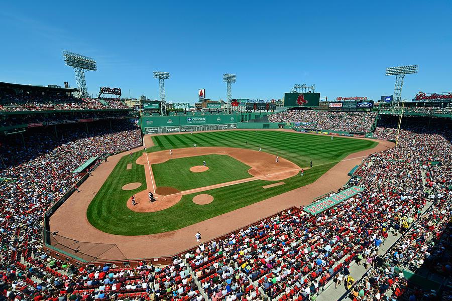 Boston Photograph - Fenway Park - Boston Red Sox by Mark Whitt