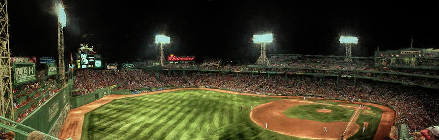 Fenway Park panorama by Barry Wills