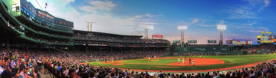 Fenway Park Panoramic - Boston Photograph
