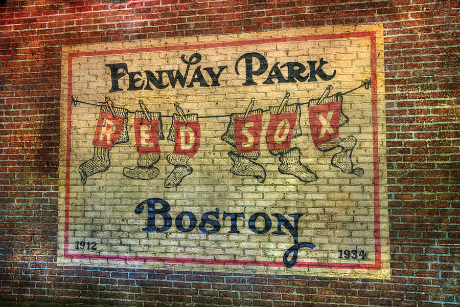 Fenway Park Sign Boston Photograph By Joann Vitali
