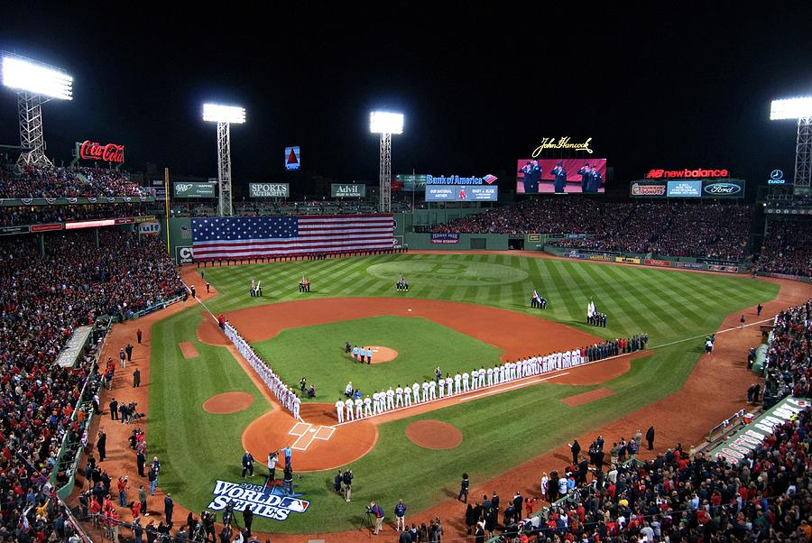 Fenway Park Photograph - Fenway Park World Series 2013 by Movie Poster Prints
