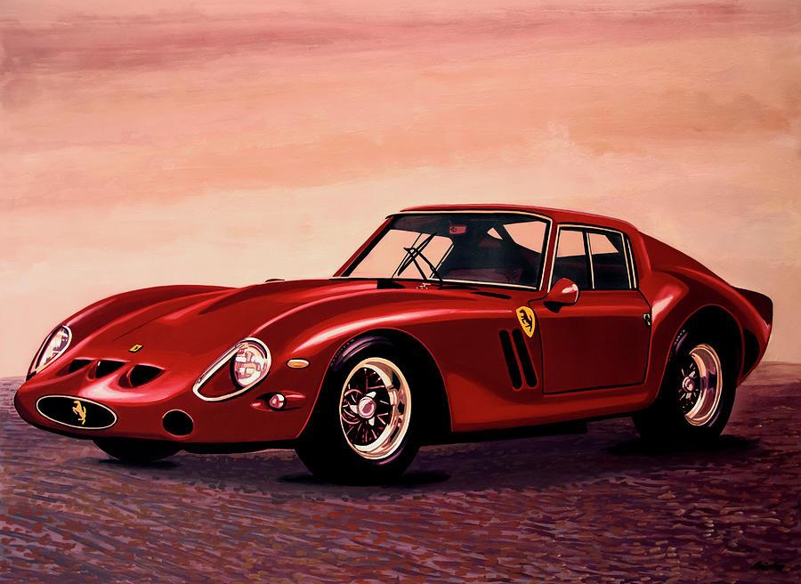 Ferrari 250 Gto Painting - Ferrari 250 GTO 1962 Painting by Paul Meijering