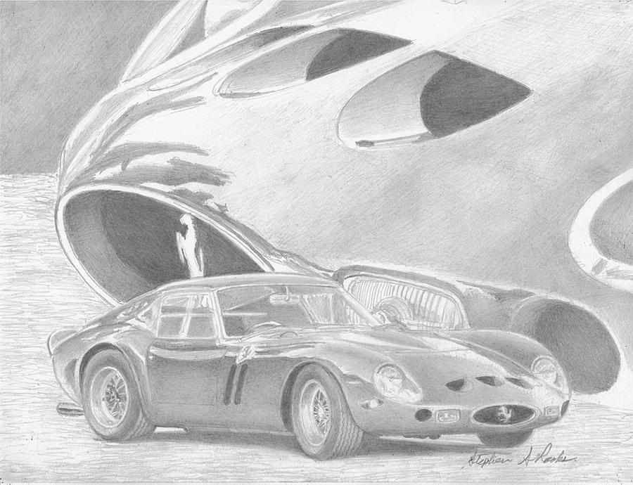 Ferrari 250gto Exotic Car Art Print