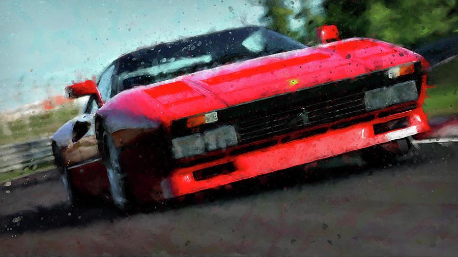 Ferrari Painting - Ferrari 288 Gto - 34  by Andrea Mazzocchetti