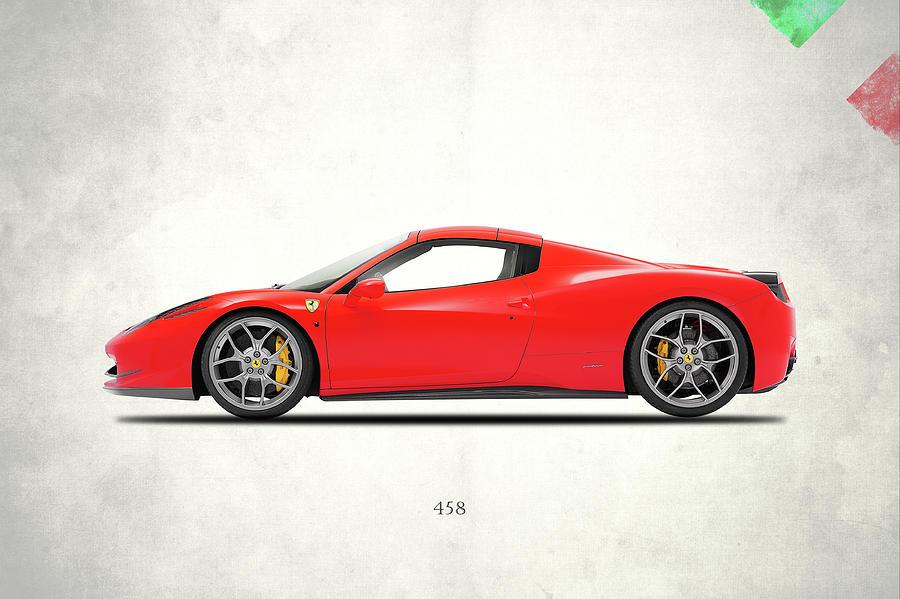 Ferrari 458 Photograph - Ferrari 458 Italia by Mark Rogan