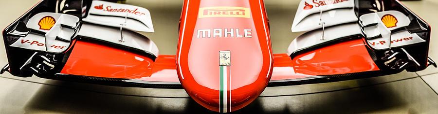 Ferrari F1 Nose Cone Photograph By Chay Bewley