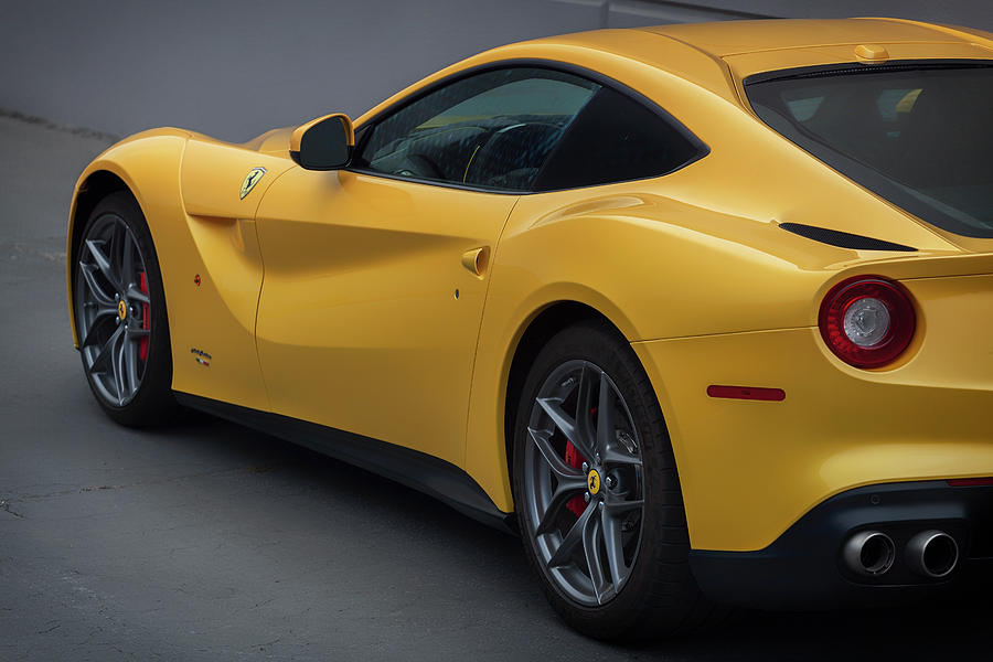 Ferrari Photograph - #ferrari #f12 #print by ItzKirb Photography