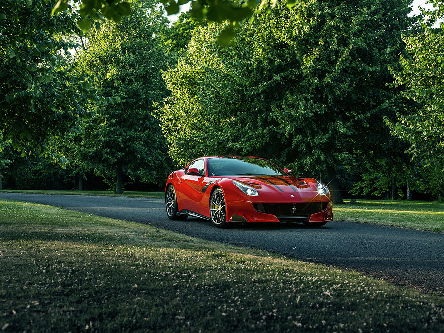 Ferrari F12 Tdf Photograph by George Williams