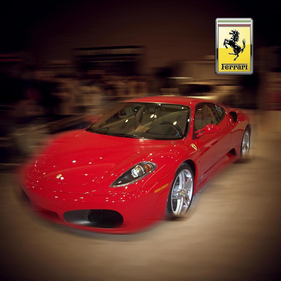 Ferrari Photograph - Ferrari F430 - The Red Beast by Serge Averbukh