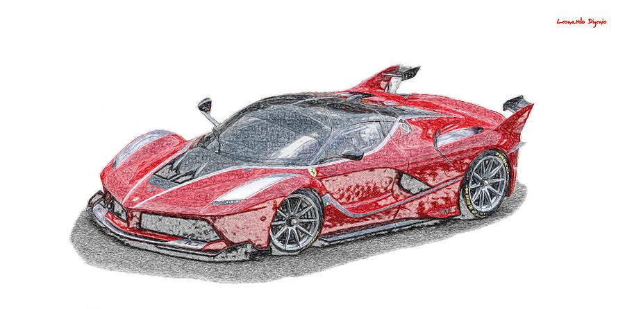 Ferrari Fxx-k Two - Da Digital Art