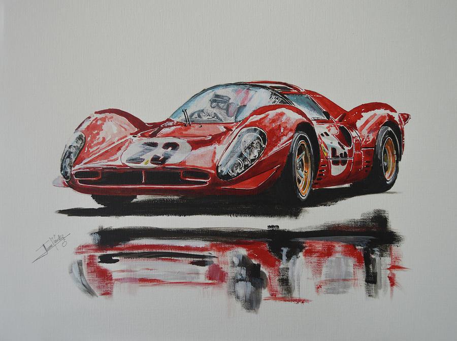 Ferrari Summer day by Juan Mendez