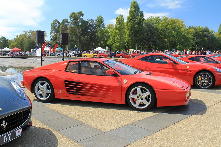 Ferrari Photograph - Ferrari Testarossa by Anthony Croke
