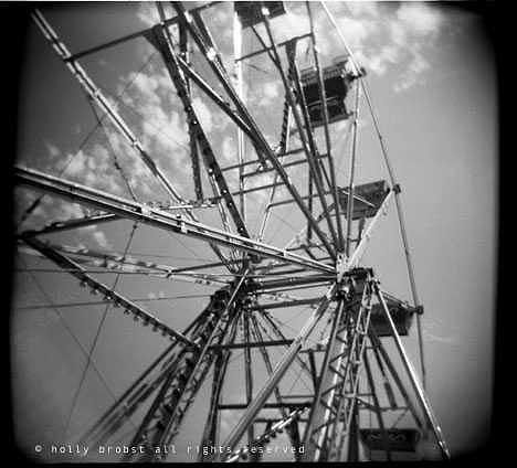 Ferris Wheel Photograph - Ferris Wheel 1 by Holly Brobst