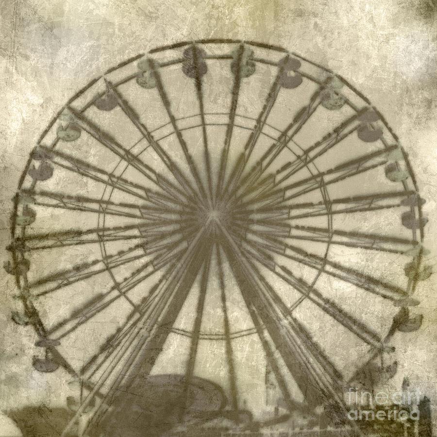 Ferris Wheel Digital Art - Ferris Wheel by Laurie Hasan