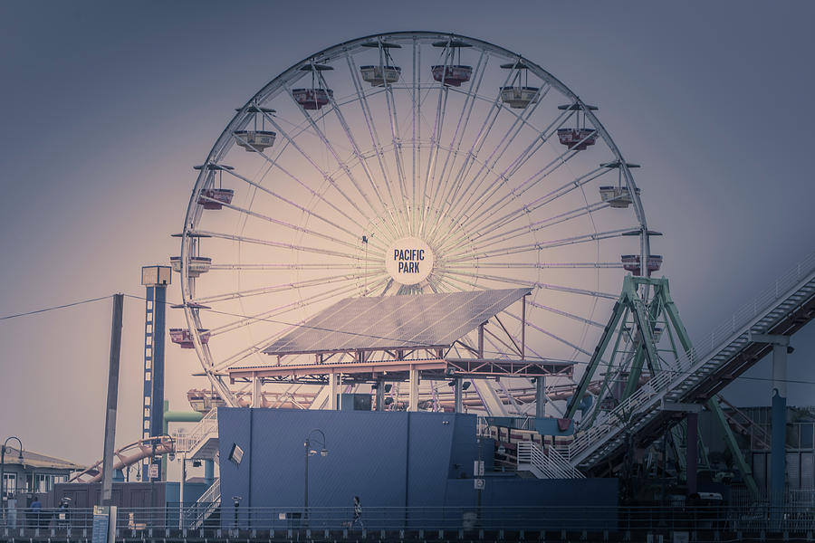 Ferris Photograph - Pacific Park by Martin Alonso