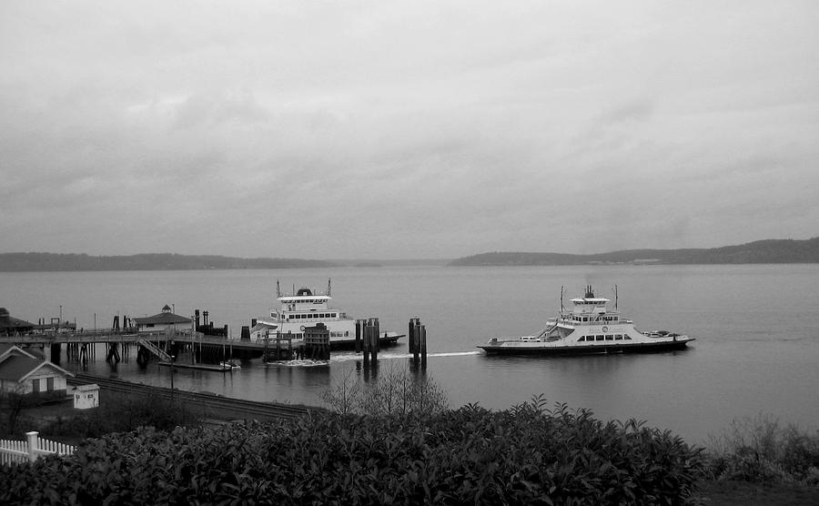 Nature Photograph - Ferry by Ty Nichols