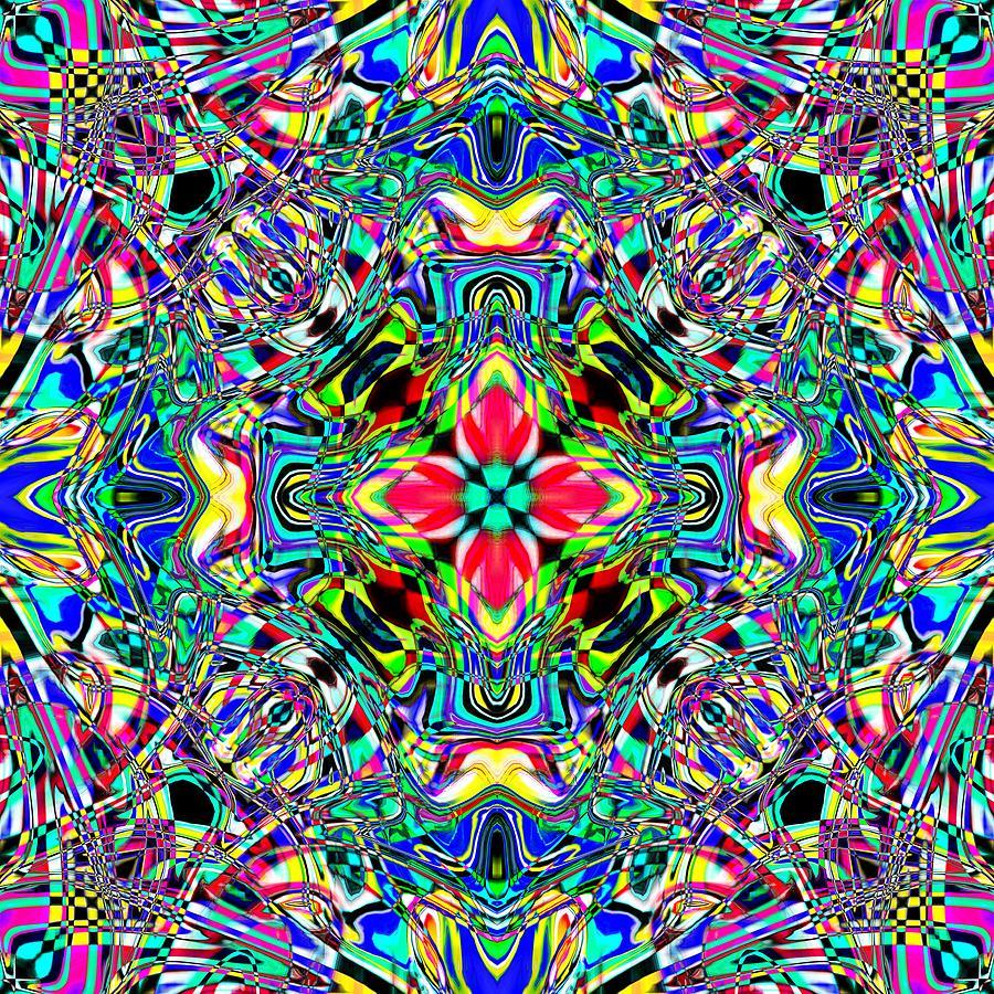 Abstract Digital Art - Feruse by Blind Ape Art
