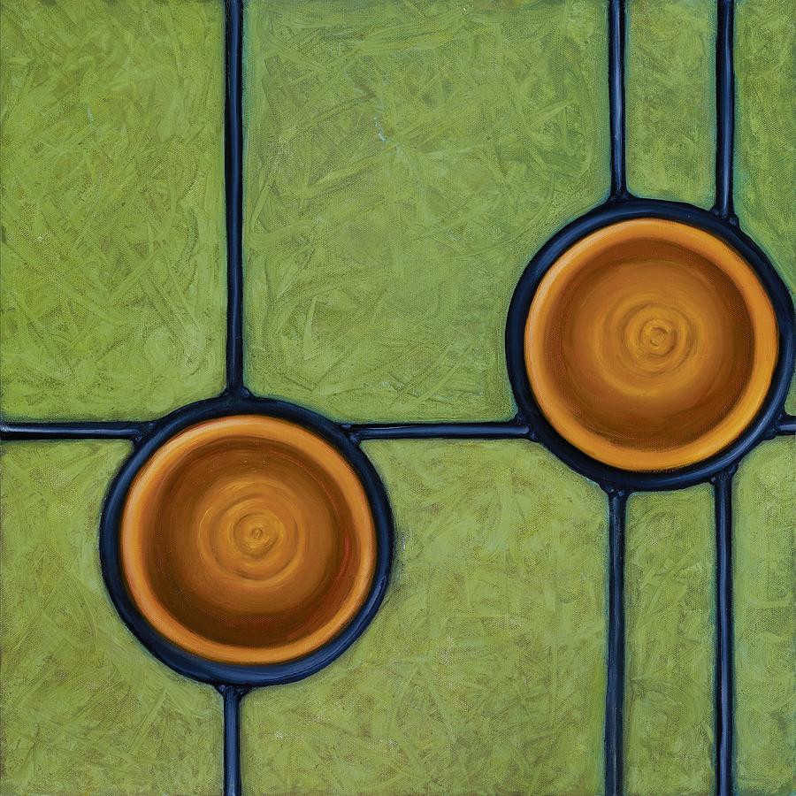 Circles Painting - Fervor by Don Mullins